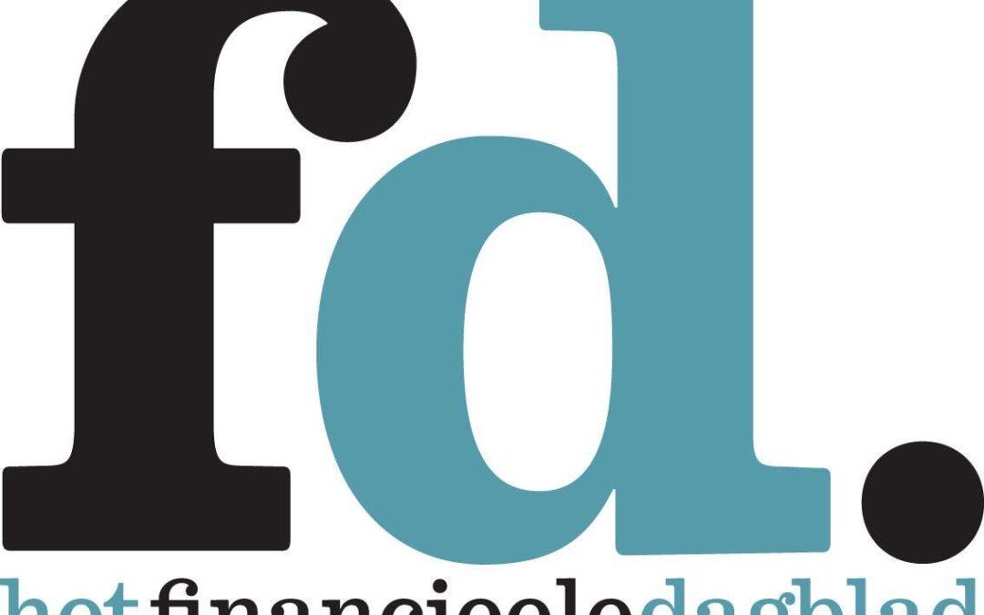 Interview in het Financieele Dagblad